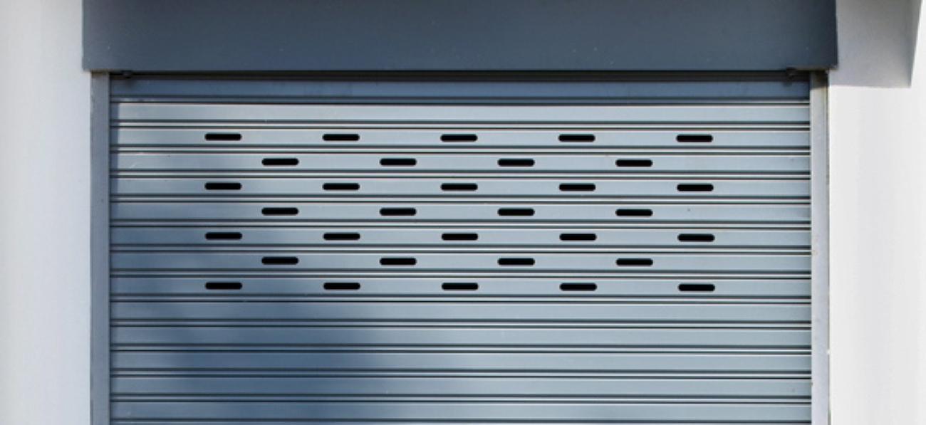 Réparation rideaux métalliques