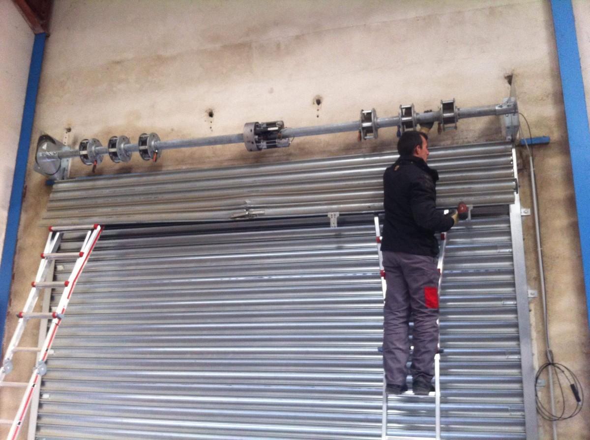 Rideau métallique Paris 8 - Installation & Dépannage