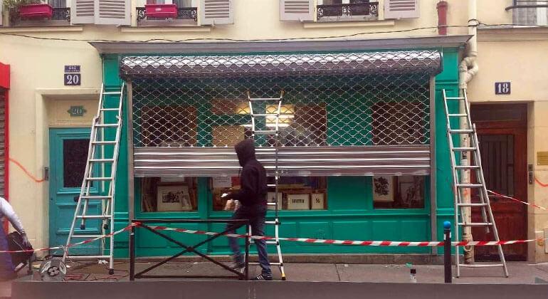 Rideau métallique paris 6 - Installation & Dépannage